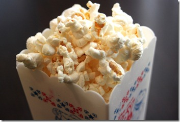 popcorn in a glass bowl 7