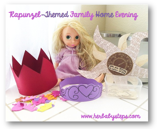 Rapunzel Family Home Evening