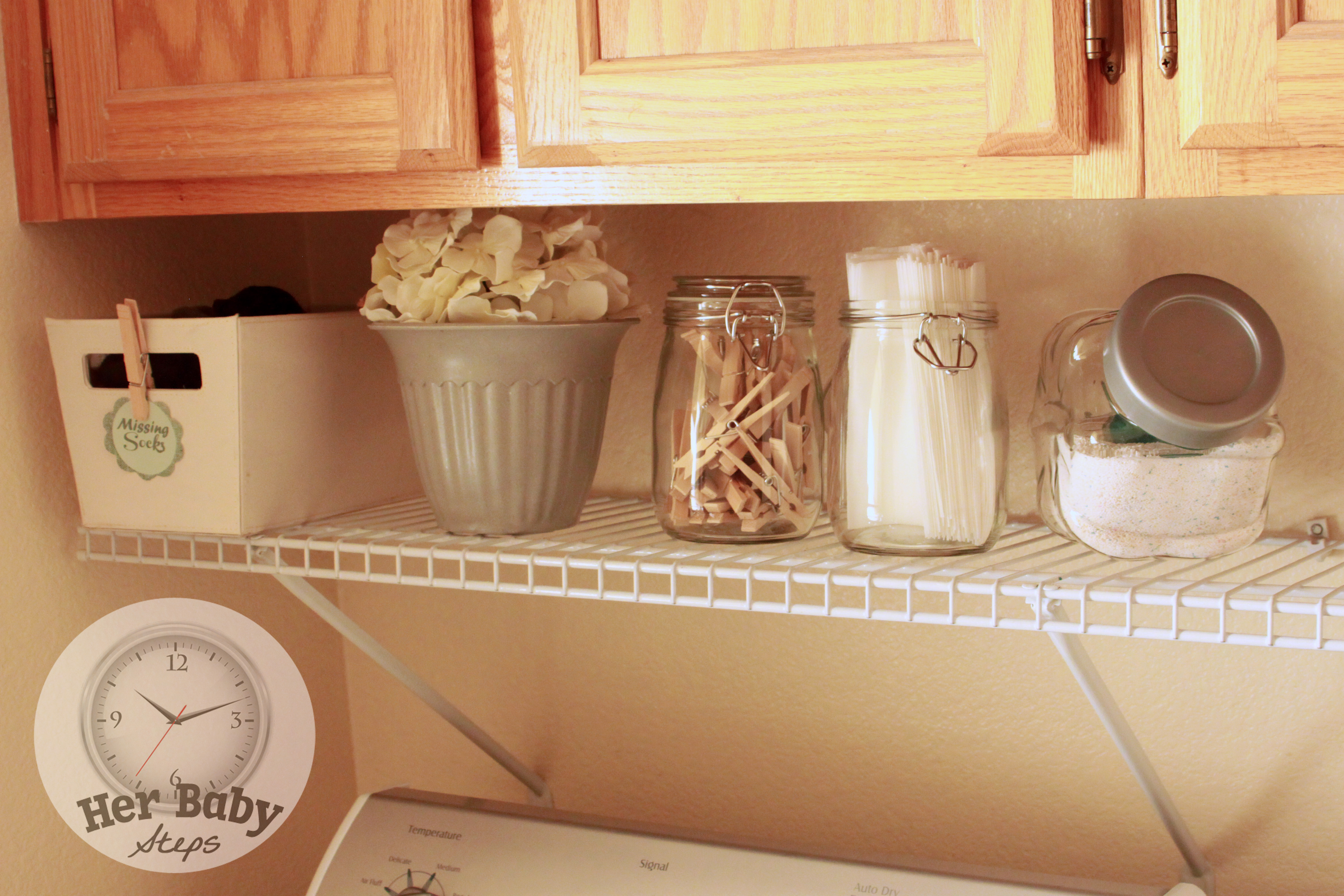 Laundry Room Makeover Her Baby Steps